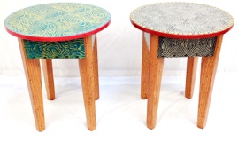 David Marsh assorted 18 in round tables.