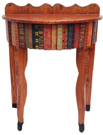 Tesoros half round hall table by David Marsh